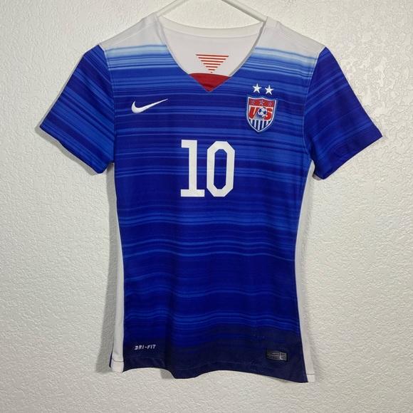 Nike Shirts Tops Carli Lloyd Us Soccer Jersey Youth Large Poshmark